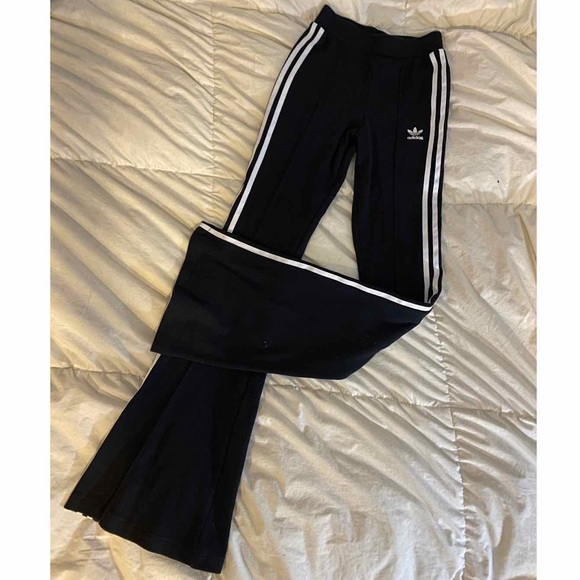 adidas Slim Fitted Flare Track Pants